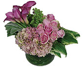 Signature Pink in New York NY, Fellan Florists Floral Galleria
