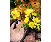 Fragrant Freesia Corsage &  Bout in Shawnee, Oklahoma, Graves Floral