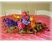 Jewel Tone Beauty Head Table in Shawnee, Oklahoma, Graves Floral