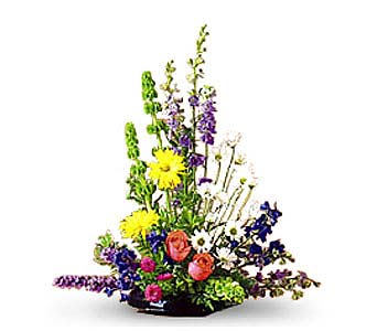 Spring Mix Sympathy Arrangement in Toronto ON, Forest Hill Florist