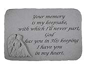 Memory Stone Your Memory Is My Keepsake in Crafton PA, Sisters Floral Designs