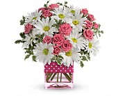 Teleflora's Polka Dots and Posies in Lake Zurich IL, Lake Zurich Florist