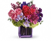 Exquisite Beauty by Teleflora in Trumbull CT, P.J.'s Garden Exchange Flower & Gift Shoppe