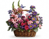 Country Basket Blooms in Spring Lake Heights NJ, Wallflowers