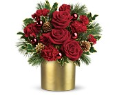 Teleflora's Holiday Elegance in New York NY, Fellan Florists Floral Galleria