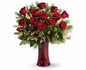 A Christmas Dozen in Benton Harbor MI, Crystal Springs Florist