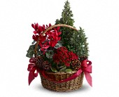 Tannenbaum Basket in New York NY, Flowers by Nicholas