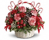 Candy Cane Christmas in Redford MI, Kristi's Flowers & Gifts
