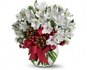 Let It Snow in Beaumont TX, Blooms by Claybar Floral