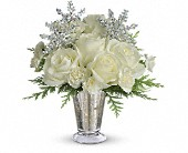 Teleflora's Winter Glow in San Jose CA, Rosies & Posies Downtown
