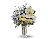 Teleflora's Toast of the Town in Canton NY, White's Flowers