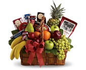 Bon Vivant Gourmet Basket in Burlington WI, gia bella Flowers and Gifts