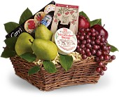 Delicious Delights Basket in Toronto ON, LEASIDE FLOWERS & GIFTS