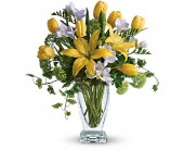 Teleflora's Spring Rhapsody in Columbia Falls MT, Glacier Wallflower & Gifts