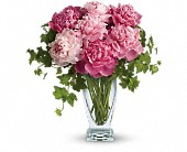 Teleflora's Perfect Peonies in Columbia Falls MT, Glacier Wallflower & Gifts