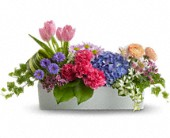 Garden Party Centerpiece in Richmond Hill ON, Windflowers Floral & Gift Shoppe