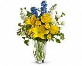 Meet Me in Provence by Teleflora in Laurel MD, Rainbow Florist & Delectables, Inc.