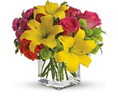 Teleflora's Sunsplash in Old Bridge NJ, Flower Cart Florist of Old Bridge