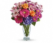Wondrous Wishes by Teleflora in Manalapan NJ, Rosie Posies