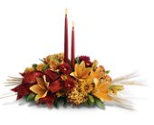 Graceful Glow Centerpiece in Timmins ON, Timmins Flower Shop Inc.