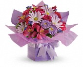 Teleflora's Lovely Lavender Present in Waldron AR, Ebie's Giftbox & Flowers