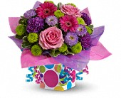 Teleflora's Confetti Present in Maple ON, Jennifer's Flowers & Gifts