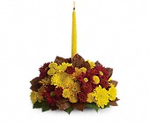 Harvest Happiness Centerpiece in Markham ON, Blooms Flower & Design