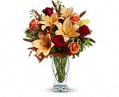 Teleflora's Fall Fantasia in Burlington WI, gia bella Flowers and Gifts