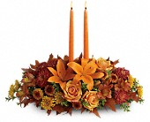 Family Gathering Centerpiece in Watertown NY, Sherwood Florist