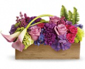 Teleflora's Ticket to Paradise in Austintown OH, Crystal Vase Florist