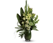 Limelight Bouquet in Burnaby BC, Lotus Flower & Terra Plants