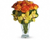 Teleflora's Aloha Sunset in Bellefontaine OH, A New Leaf Florist, Inc.