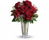 Teleflora's Kiss of the Rose in Lancaster PA, Petals With Style