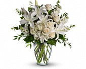 Dreams From the Heart Bouquet in Canton NY, White's Flowers