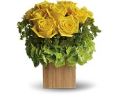 Teleflora's Box of Sunshine in Ukiah CA, Rain Forest Fantasy