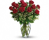 Always on My Mind - Long Stemmed Red Roses in Bensenville IL, The Village Flower Shop