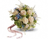 Lovely as a Rose Bouquet in Bluffton IN, Posy Pot