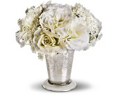 Teleflora's Angel Centerpiece in Lynchburg VA, Arthur's Flower Cart