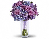 Lavender Heaven Bouquet in Marshall MI, Rose Florist & Wine Room