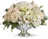 Teleflora's Park Avenue Centerpiece in Fredericton, New Brunswick, Simon Says Roses