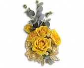 Sunswept Corsage in San Clemente CA, Beach City Florist