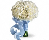 Sweet White Bouquet in Bellevue WA, DeLaurenti Florist