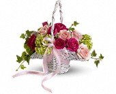 Flower Girl's Dream Basket in Lacombe AB, Lacombe Florist & Gifts