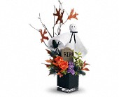 Teleflora's Ghostly Gardens in Johnstown NY, Studio Herbage Florist