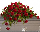 Adoration Casket Spray in Colorado Springs CO, Sandy's Flowers & Gifts