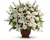 Teleflora's Loving Lilies and Roses Bouquet in Burnaby BC, Lotus Flower Boutique