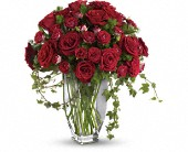 Teleflora's Rose Romanesque Bouquet - Red Roses in Cornwall ON, Blooms
