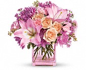 Teleflora's Possibly Pink in Edmond, Oklahoma, Kickingbird Flowers & Gifts