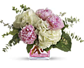 Teleflora's Pretty in Peony in Edmond, Oklahoma, Kickingbird Flowers & Gifts