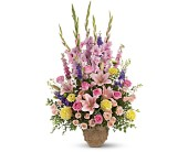 Ever Upward Bouquet by Teleflora in Tillsonburg ON, Margarets Fernlea Flowers & Gifts